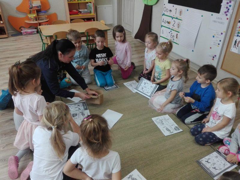 Świdnica: Dzielnicowa w przedszkolu