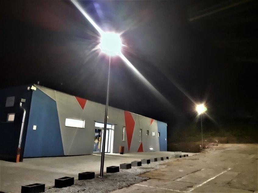 Świebodzice: Oświetlenie parkingu