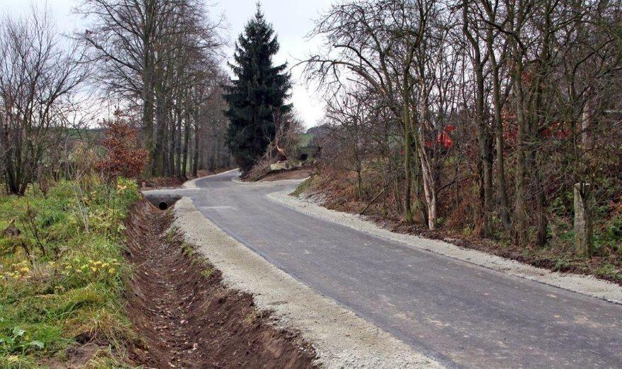 Pietrzyków: Pietrzyków z drogą