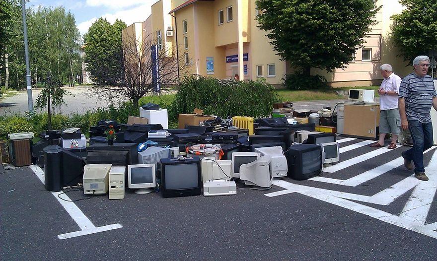 Świdnica: Zbiórka elektrośmieci
