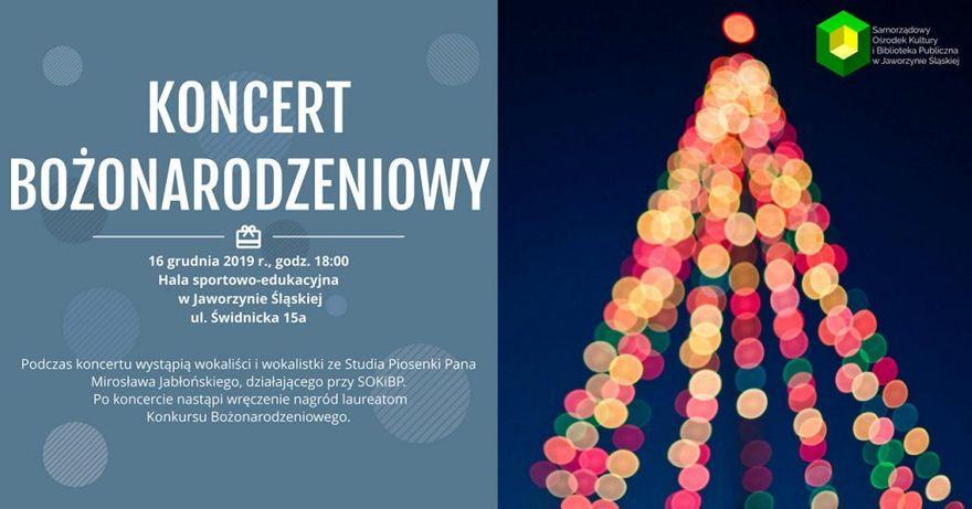 Jaworzyna Śląska: Zapraszamy na koncert