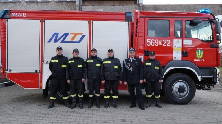 Gmina Jaworzyna Śląska: Strażacy z autami