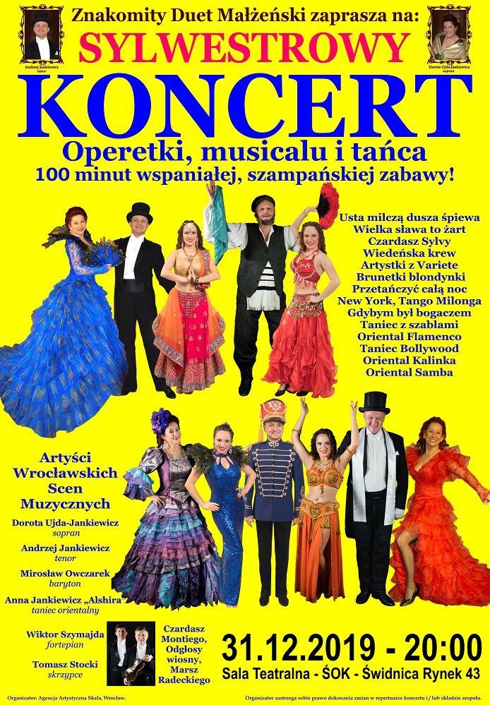 Świdnica: Sylwestrowy koncert