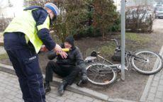 Żarów: Poszukiwany rowerzysta