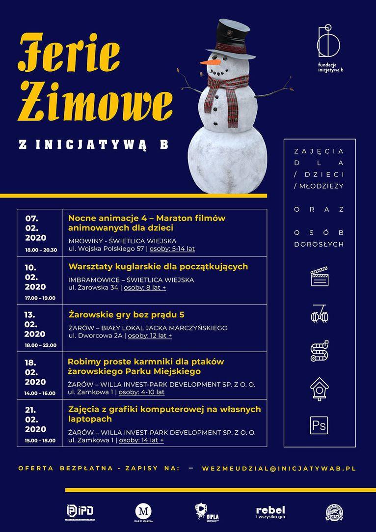 Gmina Żarów: Ferie z Fundacją