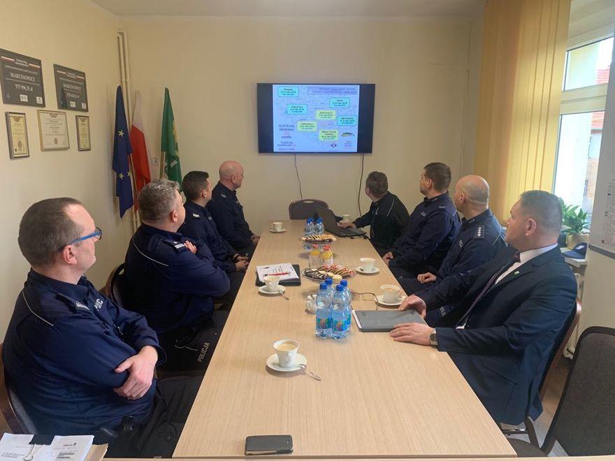 Gmina Marcinowice: Spotkanie z policjantami