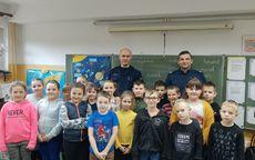 Gmina Marcinowice: Rozmawiali z dziećmi