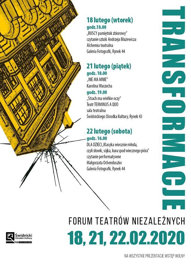 Świdnica: Niezależne teatry