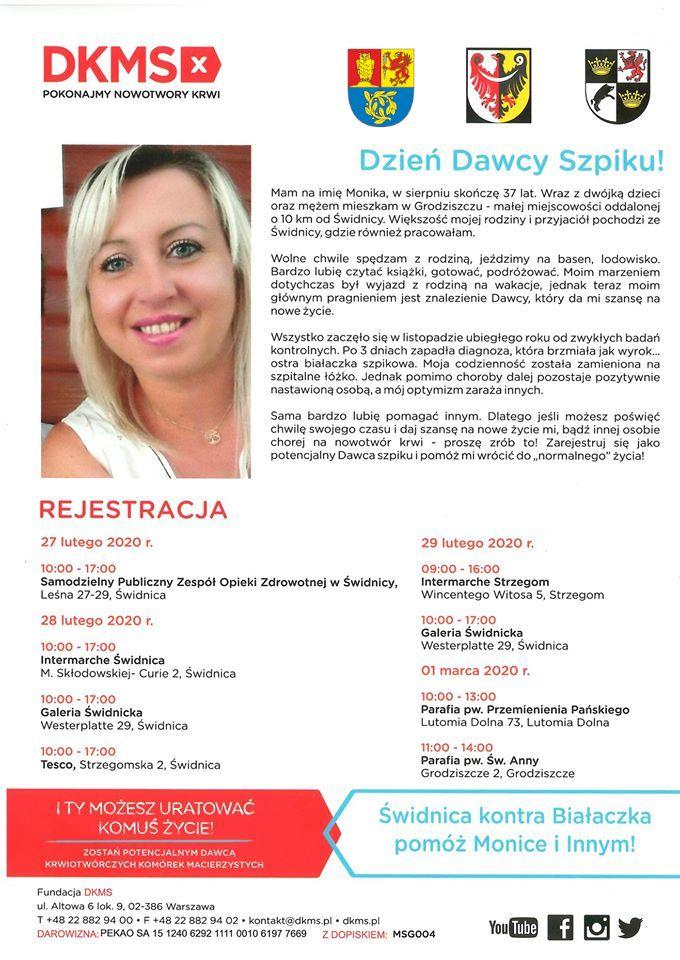 Świdnica/powiat świdnicki: Zostań dawcą