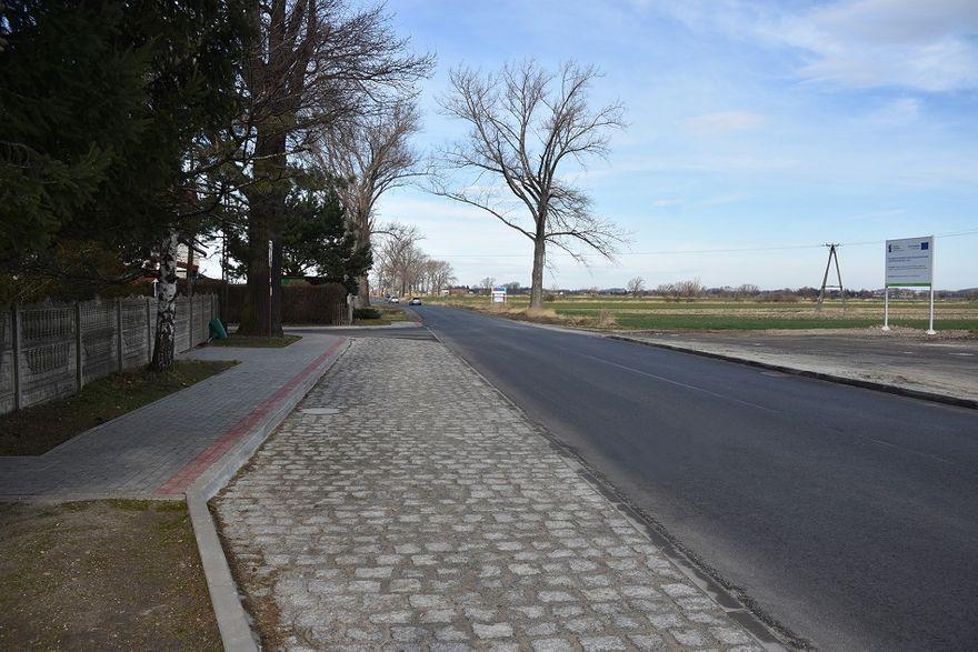 Stachowice: Przebudowali skrzyżowanie