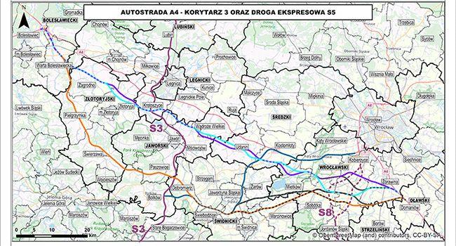Świdnica: O rozbudowie autostrady