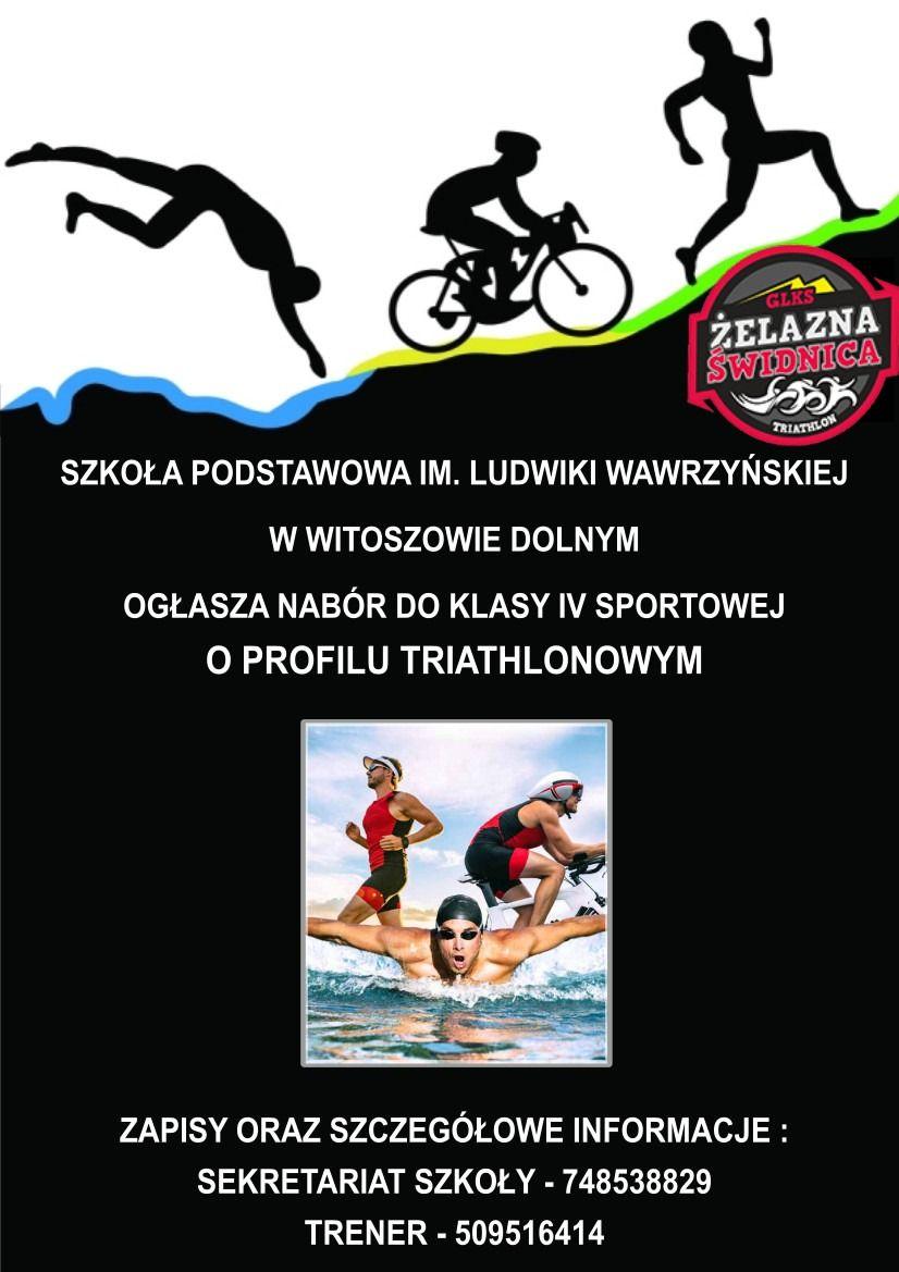 Witoszów Dolny: Trenuj triathlon