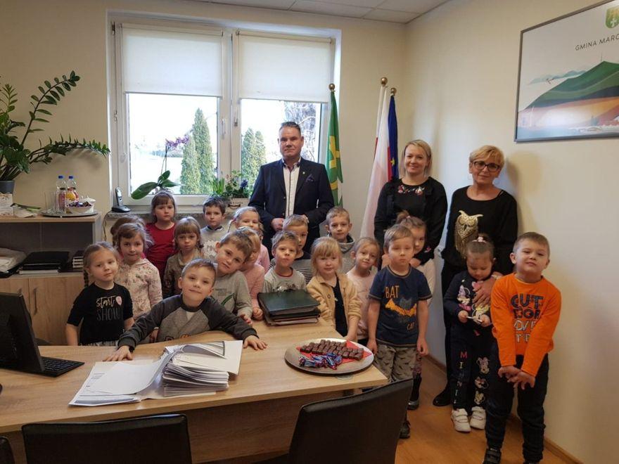 Marcinowice: Przedszkolaki w urzędzie