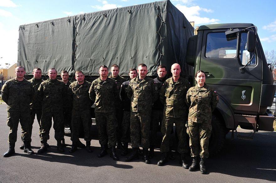 Świdnica: Pomoc od wojska