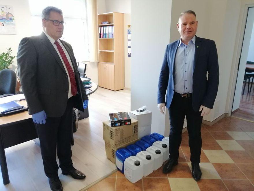 Marcinowice: Wspierają szpital