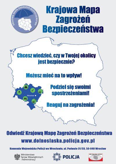 Świdnica/powiat świdnicki: Mapa działa