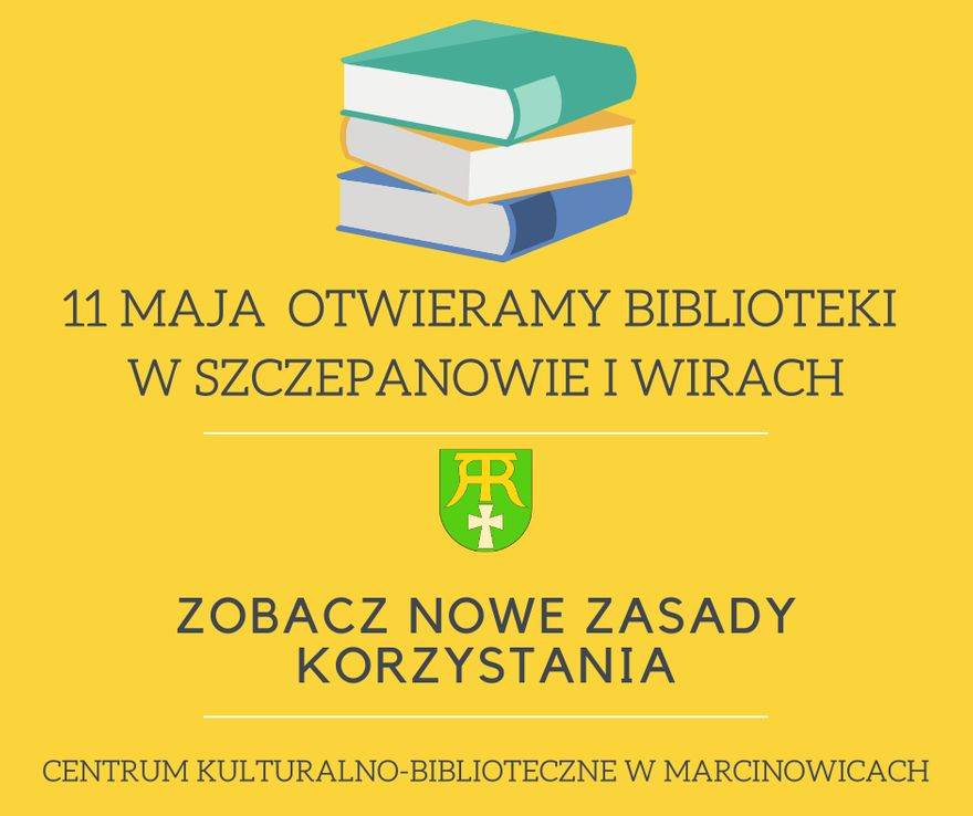 Gmina Marcinowice: Otwierają biblioteki