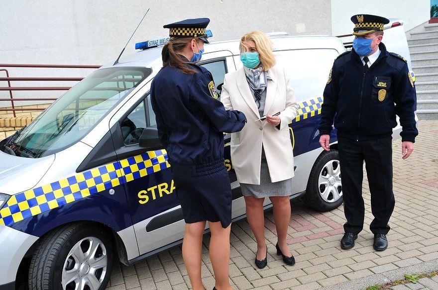 Świdnica: Nowy pojazd strażników
