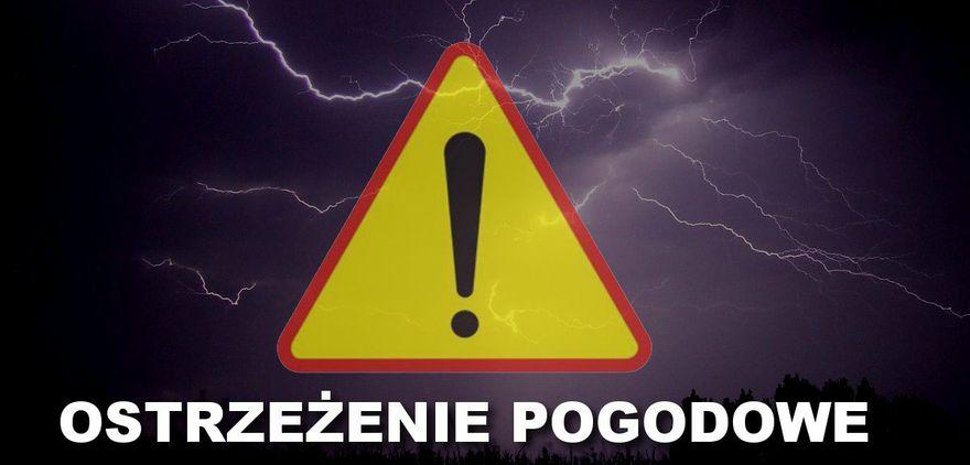 REGION: Ostrzeżenie meteorologiczne
