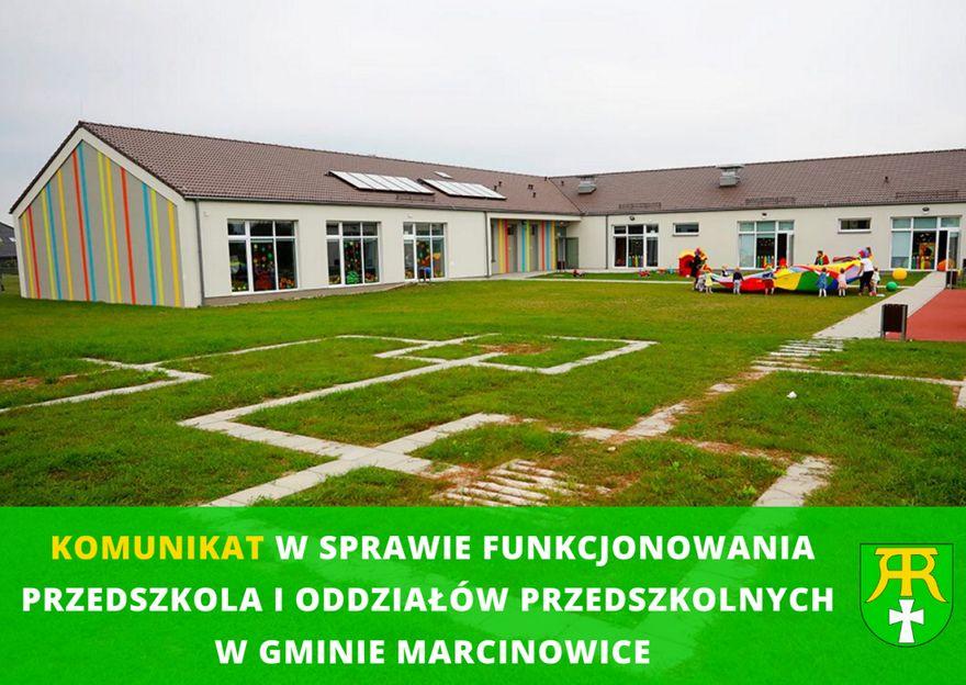 Gmina Marcinowice: Zajęcia zawieszone
