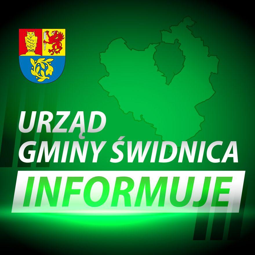 Gmina Świdnica: Nowy konkurs