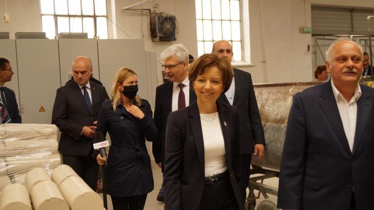 """Jaworzyna Śląska: Minister w """"Karolinie"""""""