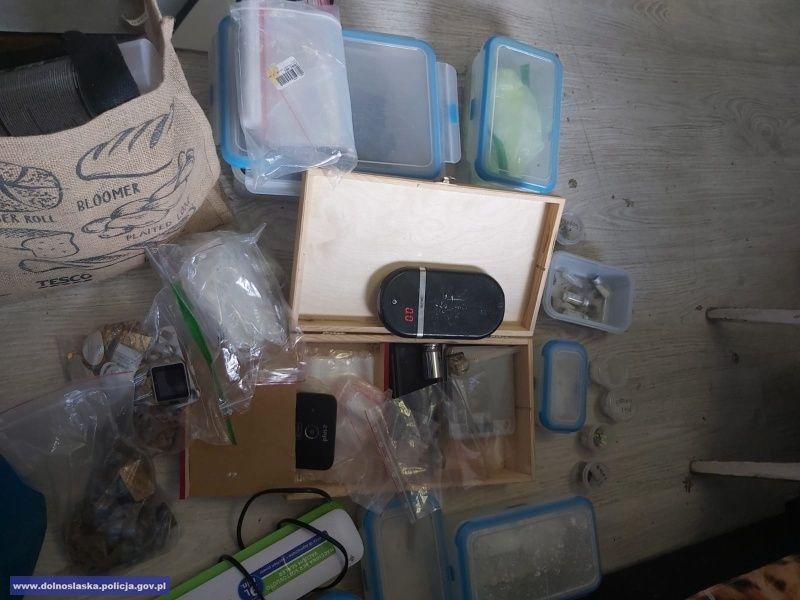 REGION: Miał ponad 20 kg narkotyków