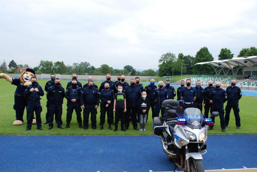 Świdnica: Policjanci dla Wojtusia