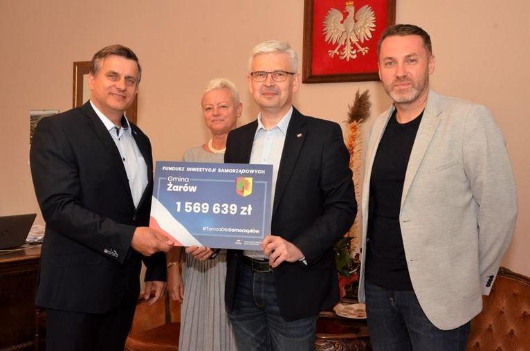 Gmina Żarów: Promesa na inwestycje