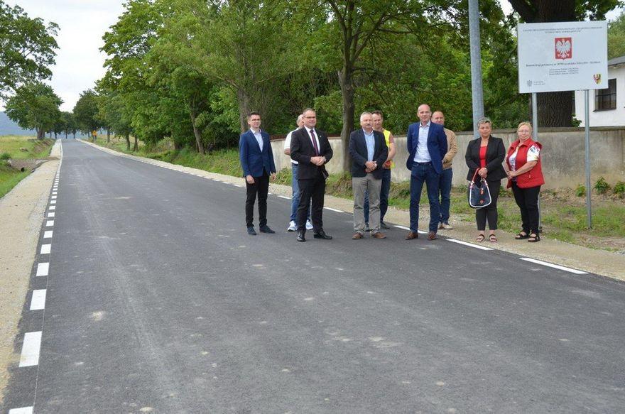 powiat świdnicki: Droga gotowa