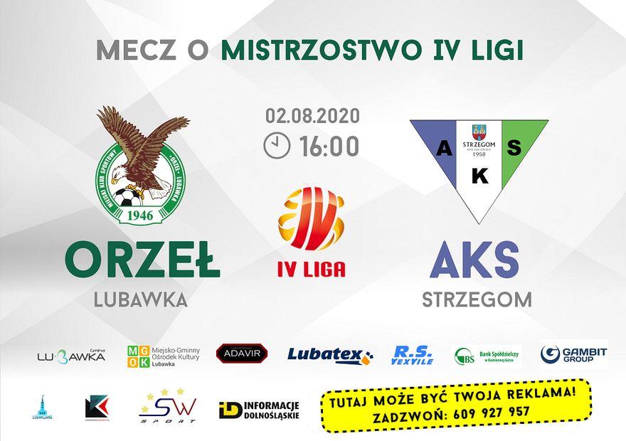 Strzegom: AKS zacznie w Lubawce
