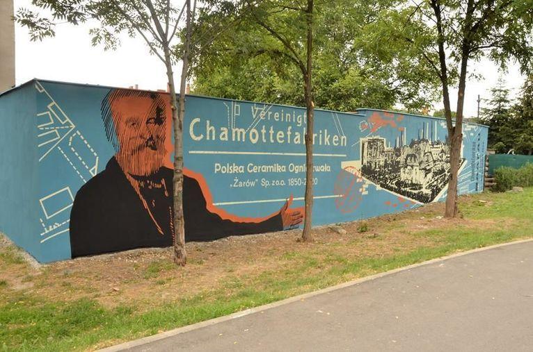 Żarów: Nowy mural
