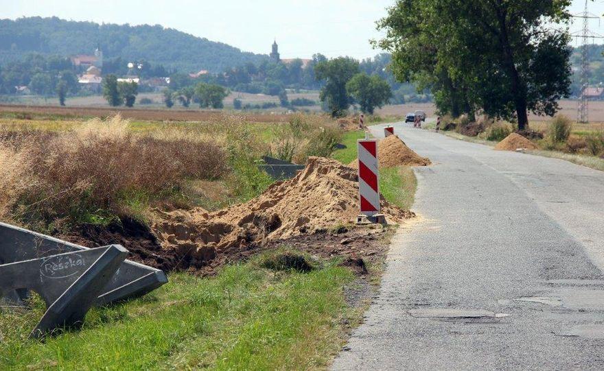 Gmina Dobromierz: Przebudowa trwa