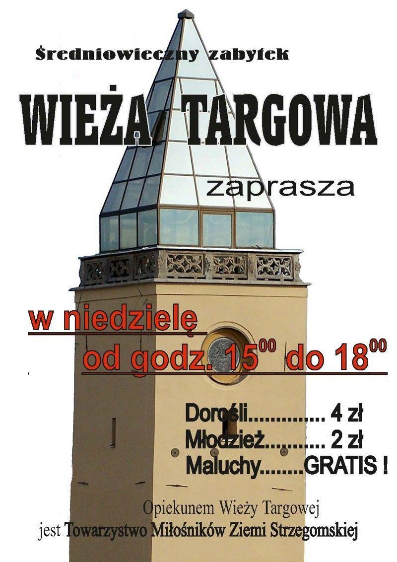 Strzegom: Zwiedź wieżę