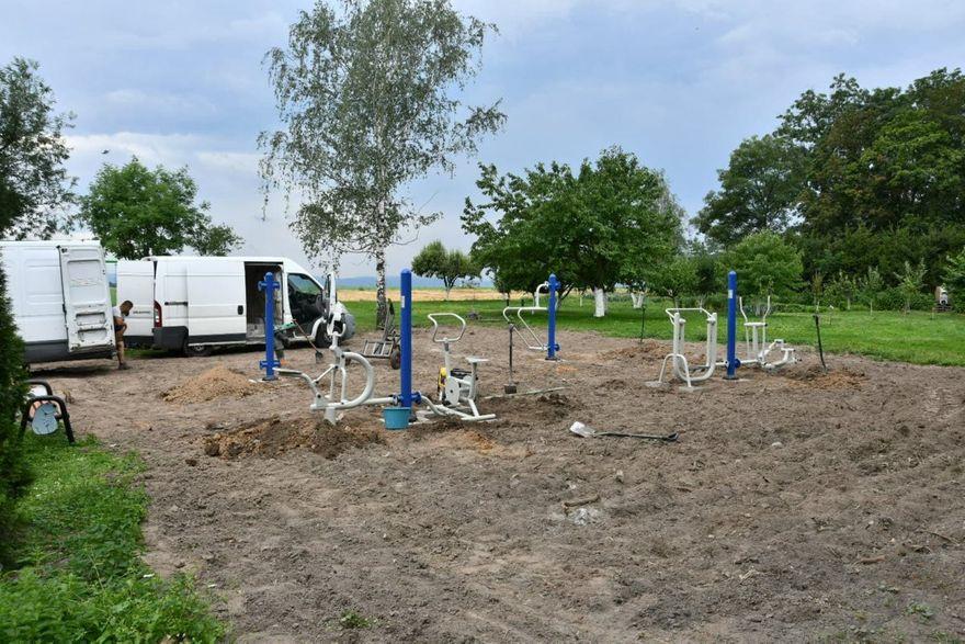 Gmina Marcinowice: Nowe siłownie