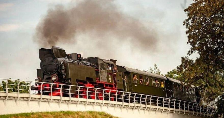 Strzegom: Zabytkowe pociągi
