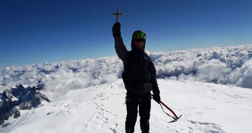 REGION: Zdobył Mont Blanc