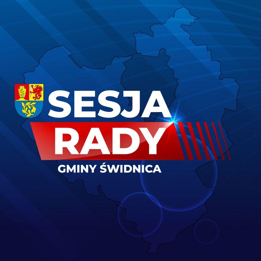 Gmina Świdnica: Sesja w Gminie Świdnica