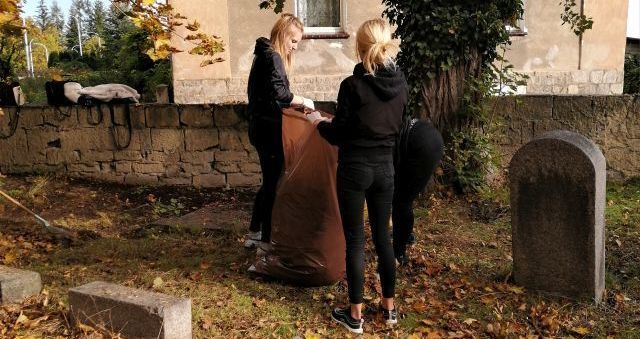 Strzegom: Cmentarz uporządkowany
