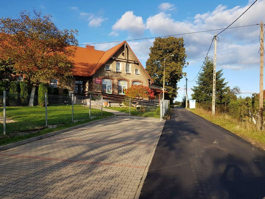 Boleścin: Odnowione drogi w Boleścinie