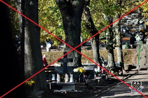 Kraj: Cmentarze zamknięte!