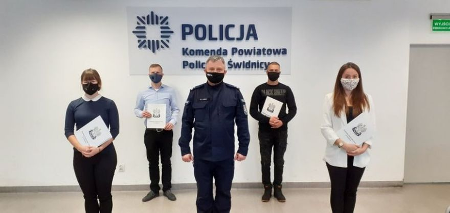 Świdnica/powiat świdnicki: Nowi policjanci