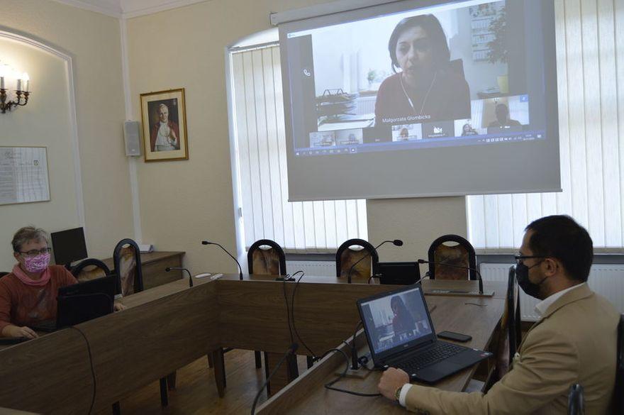 Świebodzice: Edukacyjna wideokonferencja