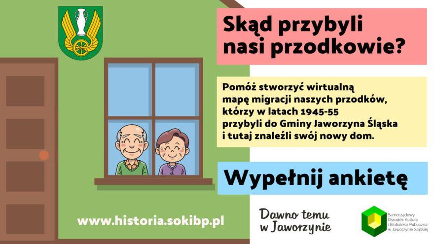 Jaworzyna Śląska: Skąd przybyli przodkowie?