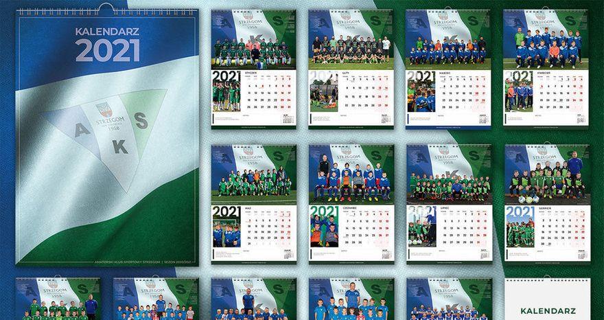 Strzegom: Piłkarskie kalendarze