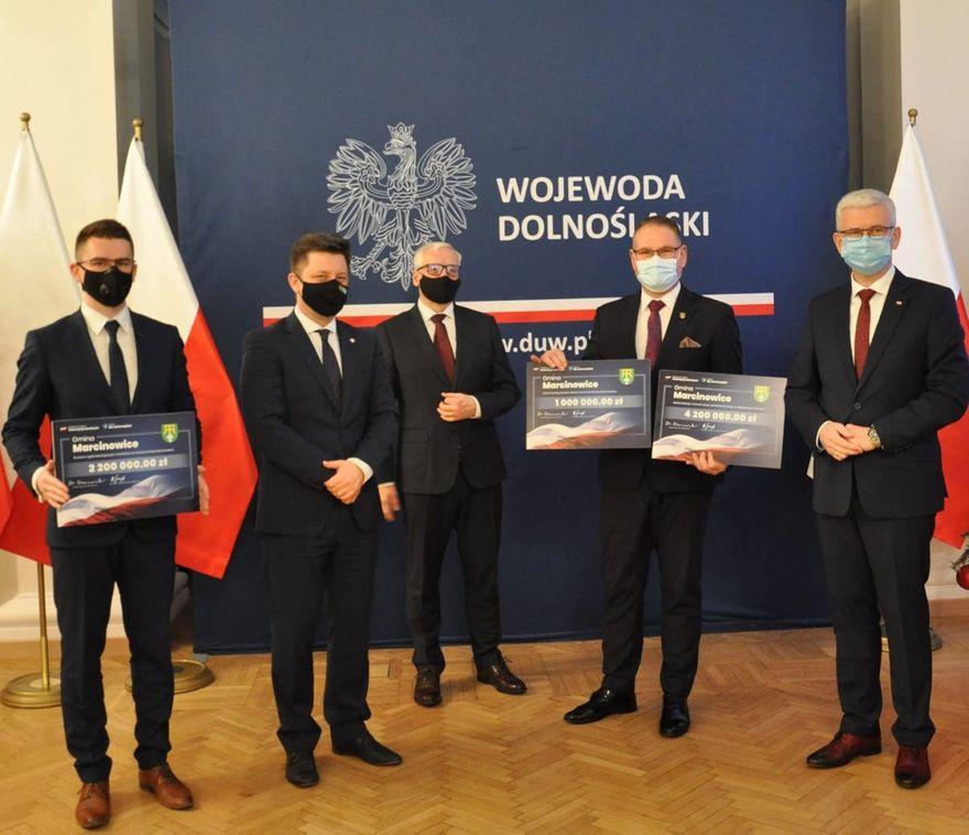 Gmina Marcinowice: Promesa już w Marcinowicach