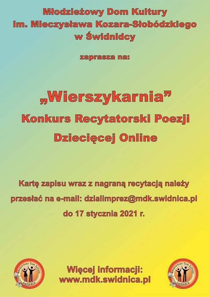 Świdnica: Poezja online
