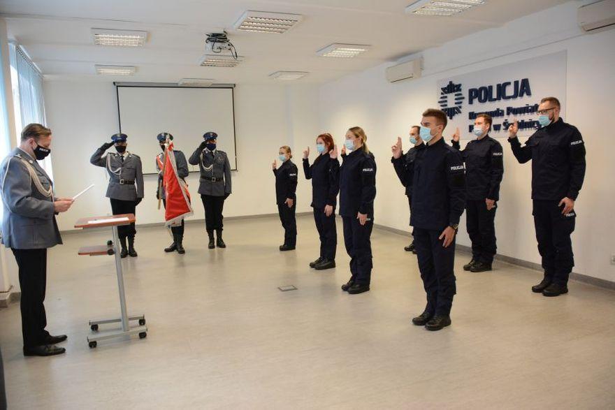 Świdnica/powiat świdnicki: Policjanci ślubowali