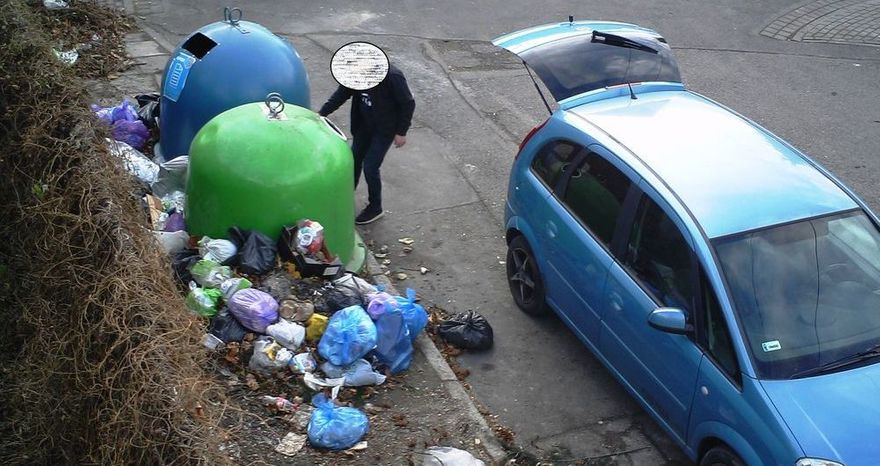 Strzegom: Mandaty za zaśmiecanie