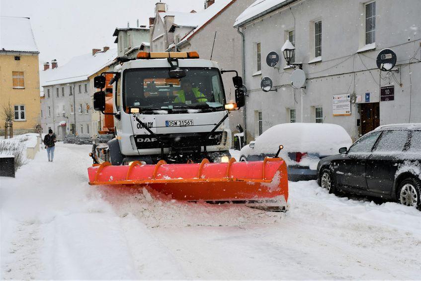 Świebodzice: Zimowe utrzymanie dróg
